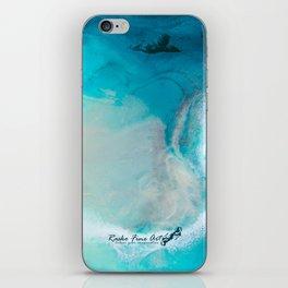 """""""Swakopmund"""" Resin Seascape coastal art, Africa coast in Namibia iPhone Skin"""
