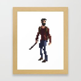 Joel The last of us Framed Art Print