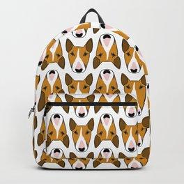 Tan multibull Backpack