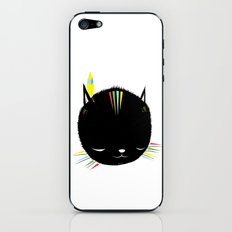 MIGHTY TIGARRR, BLACK KITTEN 묘 iPhone & iPod Skin