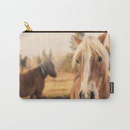Horses v3 Carry-All Pouch