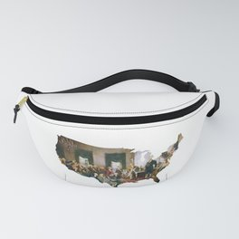 USA MAP The Signing of the Constitution of the United States Fanny Pack