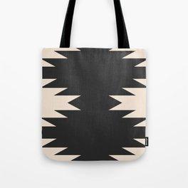 Minimal Southwestern - Charcoal Tote Bag