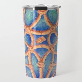 Geometry in the cloister Travel Mug