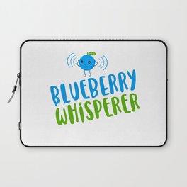 Blueberry Whisperer - Funny, Cute Laptop Sleeve