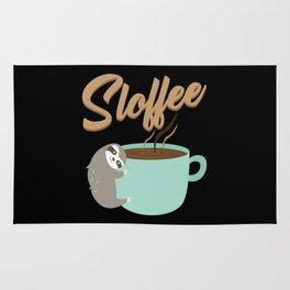 Sloffee | Coffee Sloth Rug