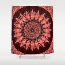 Mandala mystic flower Shower Curtain