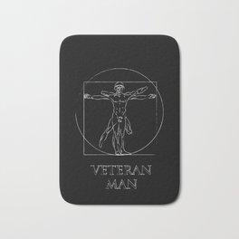 Veteran Man Bath Mat