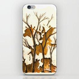 De Oro como Sangrado Estelar iPhone Skin