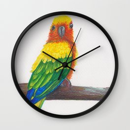 Yes Bird Wall Clock