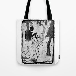 Lurking in The Woods Tote Bag