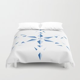 Duotone Star Duvet Cover