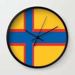 flag of Ingria Wall Clock