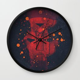 Grunge Transformers: Autobots Wall Clock