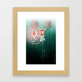 Natural Fruit Framed Art Print