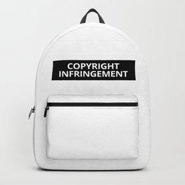 Copyright Infringement Backpack