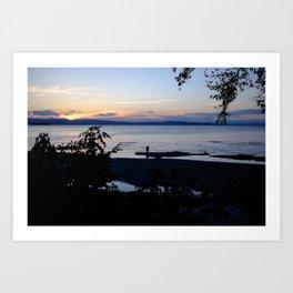 Lake Champlain Art Print