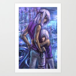 Older brother Art Print