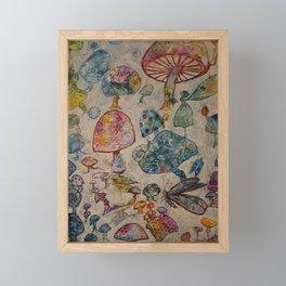 Does it Look Like Rain? Framed Mini Art Print