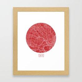 Tokyo. Cherry Blossom. Framed Art Print