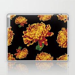 Floral Theme- Chrysanthemum Watercolor Painting Laptop & iPad Skin
