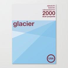 glacier single hop Canvas Print