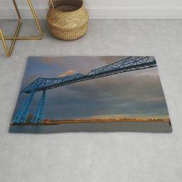 Middlesbrough Transporter Bridge Rug