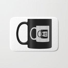 Infinite Coffee Bath Mat