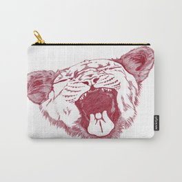 yawning_lion Carry-All Pouch