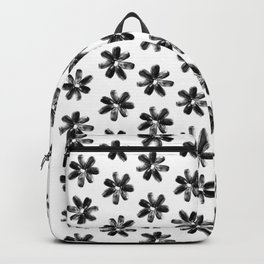 Sunflower Seeds Flowers Pattern Backpack