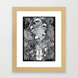 S-ad balloon Framed Art Print