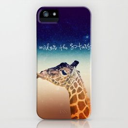 GiRAFFe II iPhone Case