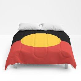Australian Aboriginal Flag Comforters