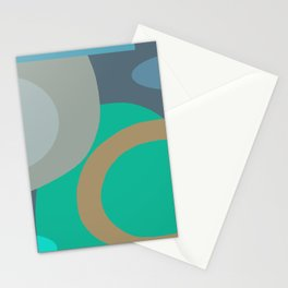Underwater Absract Stationery Cards