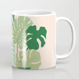 Monstera plant + Wall inspo Coffee Mug