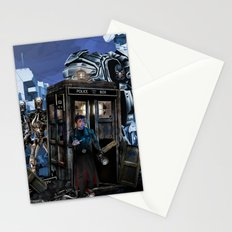 10th Doctor who trapped in the terminator war zone iPhone, ipod, ipad, pillow case and tshirt Stationery Cards
