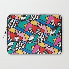 Colorful Memphis Modern Geometric Shapes Laptop Sleeve