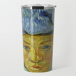 "Vincent van Gogh ""Portrait of Camille Roulin"" Travel Mug"