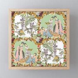 Imari Panel Framed Mini Art Print
