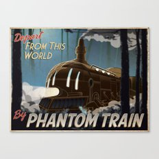 Final Fantasy VI - Come Ride the Phantom Train Canvas Print