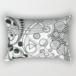 Looking Through Rectangular Pillow