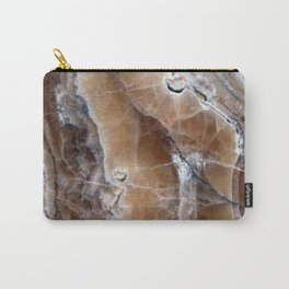 Marble Paint Formation Carry-All Pouch
