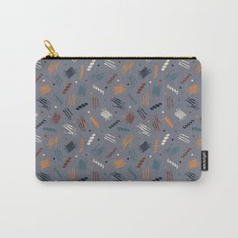 Party Protein on Light Grey Carry-All Pouch