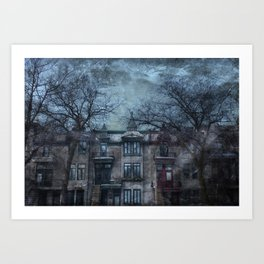 The Montreal Mystery Art Print