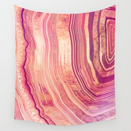 Tribeca Rose Geode Wall Tapestry