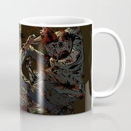 Fighting the undead Coffee Mug
