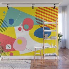 Abstract Pop III Wall Mural