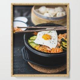 Korean Bibimbap Serving Tray