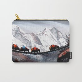 Herd Of Mountain Yaks Himalaya Carry-All Pouch