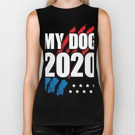 My Dog 2020 - Vote for My Dog Election Biker Tank